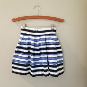Btween striped skater skirt